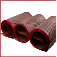 High Temperature Resistant PTFE Coated Fiberglass Industrial Teflon Conveyor Belt Kevlar Mesh