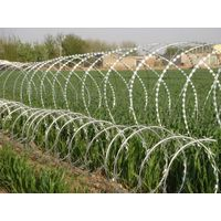 High Security Factory Price CBT-65 Concertina Razor Wire For Sale