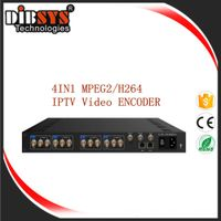 4IN1 MPEG2/H264 IPTV Video ENCODER_ENC3144