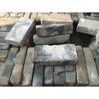 old grey bricks for wall decoraction|used handmade grey bricks thumbnail image