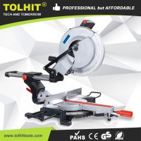 "TOLHIT 305mm/12"" Professional Slide Compound Miter Saw thumbnail image"