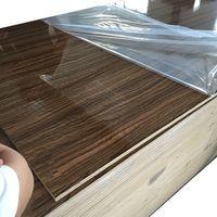 UV MDF/Melamine Laminated MDF used for cabinets