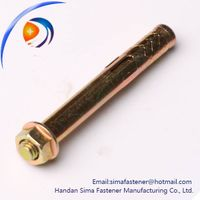Hex flange nuts bolt anchor shield anchor sleeve anchor