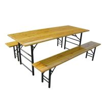 Folding Wooden Beer table thumbnail image