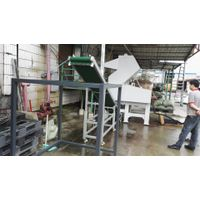 50Hp crusher+belt conveyor