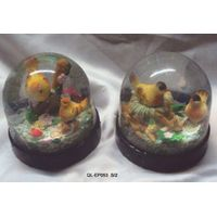 Water Globe with Birds thumbnail image