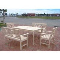 wooden tables and chairs(DDF-7677) thumbnail image