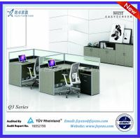 30mm L-shaped Office Partition Furniture