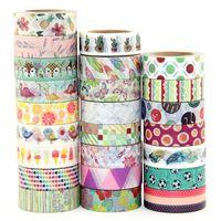 China Famous Tape Brand Manufacturer Multipurpose Various Designs Washi Paper Tape thumbnail image
