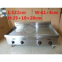 Stainless steel big gas griddle/ table top flat plate big griddle--G48