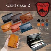 [Tochigi Leather] Name card case 3