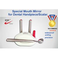 Dental mouth mirror for handpiece scalar surgery instrument
