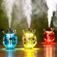 Hot Sale Beetles Shaped Colorful Water Humidifier