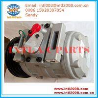 DENSO 10S17C AUTO ac compressor for CAT320/320C 176-1895 231-6984 447220-3845 447220-3846 447220-384