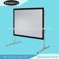 fast fold projection  screen thumbnail image