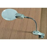 Table Magnifier with LED Lights Clamp(TS4127L)