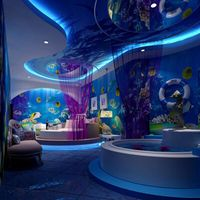 3D wall theme wallpaper customize under water