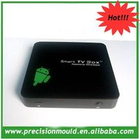 2012 hot Rockchip RK2918 android internet TV box with HDD bay/android HDD media player