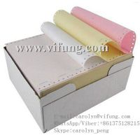 Perforated Continuous Carbonless Bank NCR Paper Supplier thumbnail image
