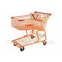 YLD-CT180-2FB Canadian Shopping Trolley Shopping Trolley, Anti-static Wheels Shopping Trolley,Canadi thumbnail image