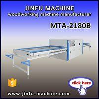 MTA-2180B double work table PVC foil Vacuum Membrane Press machine for furniture laminate and kitche