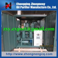 6000 Liters Per Hour Transformer Insulating Oil Filtration Machine