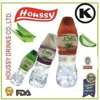 HOUSSY-PURE fda kosher 330ml fresh fruity soft Aloe Vera Cube drinks