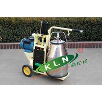 9J-I-type piston milking trolley/ machine