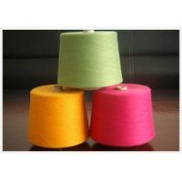 dope dyed polyester spun yarn,30s/1,colse virgn