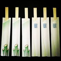 semi-closed paper sleeve bamboo chopsticks