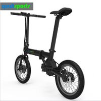 China Best Moped Scooter 36V 250W Hub Motor Electric Bike 16 20 inch Small Pocket electrical Bicycle thumbnail image