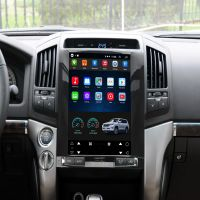 Vertical Screen 12.1 Inch Android Car Multimedia Navigation For Toyota Land Cruiser 2008-2015 thumbnail image