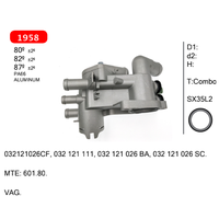combo thermostat for VAG. 032121026CF, 032 121 111, 032 121 026 BA, 032 121 026 SC.