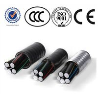 XLPE Insulated Aerial Cable Aerial Bundled Cable