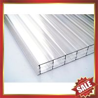 four layers PC sheet,multiwall pc sheet,multi wall pc sheet,four wall pc sheet