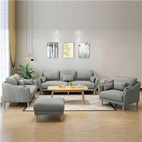 Living room fabric sofa set thumbnail image