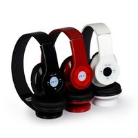 High Quality Foldable Wireless Bluetooth MP3 Player Stereo Headphone thumbnail image