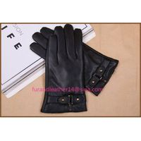 winter leather gloves