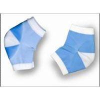 BODY 5004 MO Gel moisturizing heel viscose rayon socks