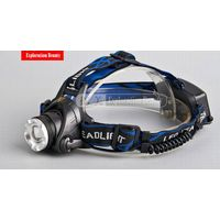 Aluminum XML T6 10W Li-ion battery high power Bicycle headlight rechargeable headlamps