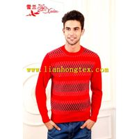 L-064 2013 high quality and fashional cashmere sweater for men