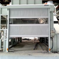 roller shutter explosion-proof Internal High Speed Rapid Roller Shutter Door