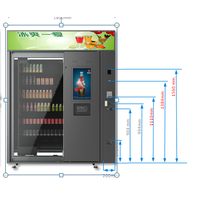 China Automatic Combo Sex Products Sanitary Napkin Vending Machine for sale thumbnail image
