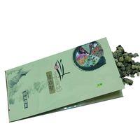 wholesale quad pack resealable pouch green foil tea bag packing thumbnail image