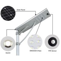Integrated Solar Street Light 120W All in One Solar LED Light thumbnail image