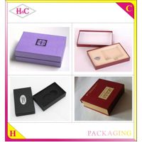 Wholesale Luxury Gift Folding Paper Box, Square Shape Hard Cardboard Gift Box with Hot Stamped