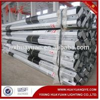 galvanized steel tapered power pole