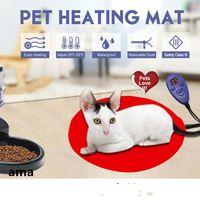 Pet heating blankets