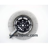 Round heating element