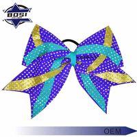 Low MOQ available glitter cheap price mini cute fashionable Hair Bows thumbnail image